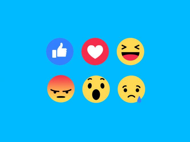 What are the new Facebook Reactions?